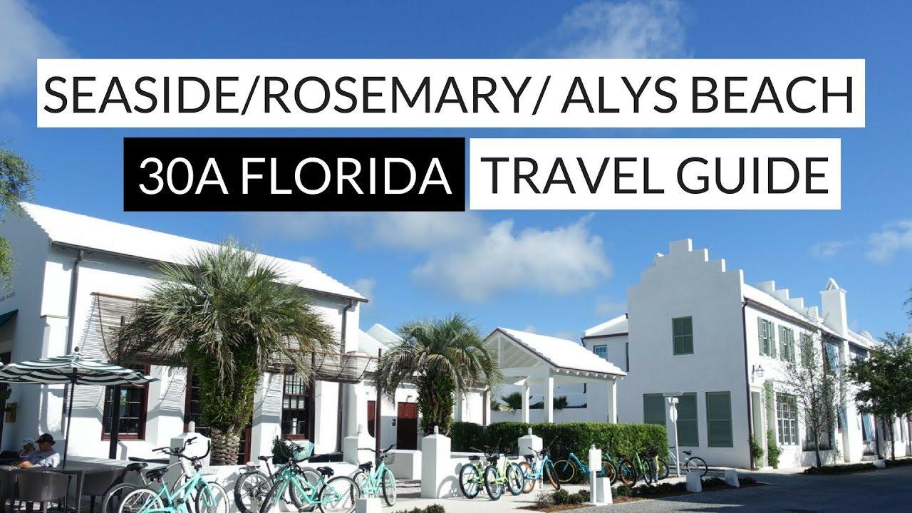30a Seaside Rosemary Alys Beach