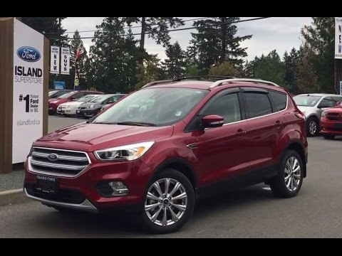 2017 Ford Escape Anium Canadian Touring Ecoboost Awd Foot Activated Liftgate Review Island