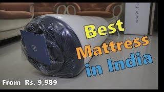 Flo Ergo Mattress - Best Mattress in India, 100 night trail, 10 year warranty,  from Rs.  9,989/-