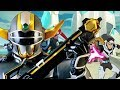 Gambar cover Voltron: Legendary Defender Power Rangers: Lost Galaxy Style