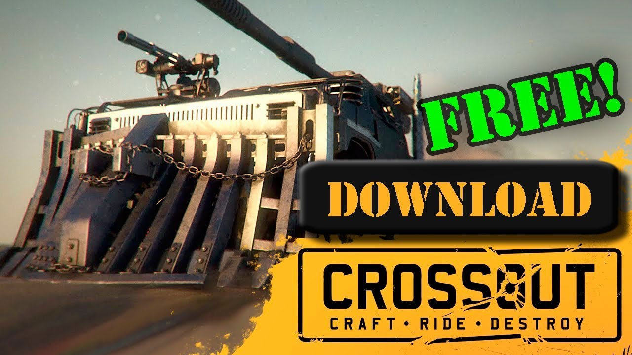 How to Download Crossout for PC Free!
