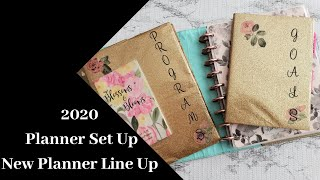 My 2020 Planner Line up|Set Up|Marquita Bianca