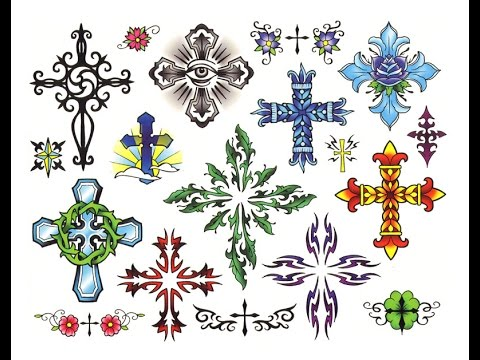 Tattoo designs, sketches & ideas - cross tattoos
