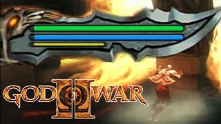 GOD OF WAR 2 Urnas Secretas de Vida e Magia Ω GOW 2 Ω 17 PT BR PS3
