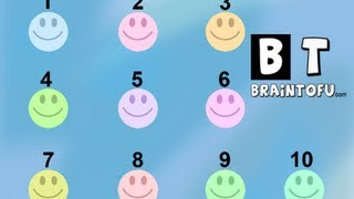 123 NUMBERS SONG baby math learn how to count 1 - 10 English song