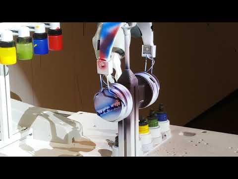 ABB YuMi Robot customizes Urban Ears headphones
