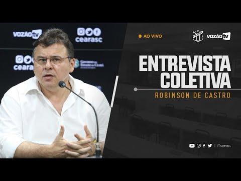 COLETIVA Robinson de Castro  23052019  Vozão TV