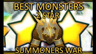 Best Natural 2 Star Monsters - Summoners War