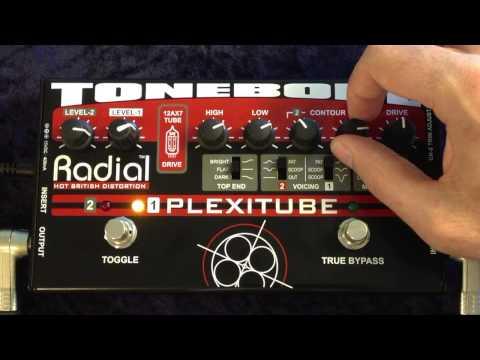 Radial Tonebone Plexitube Demo