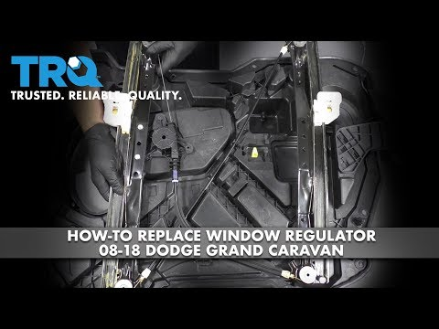 How to Replace Window Regulator 08-18 Dodge Grand Caravan
