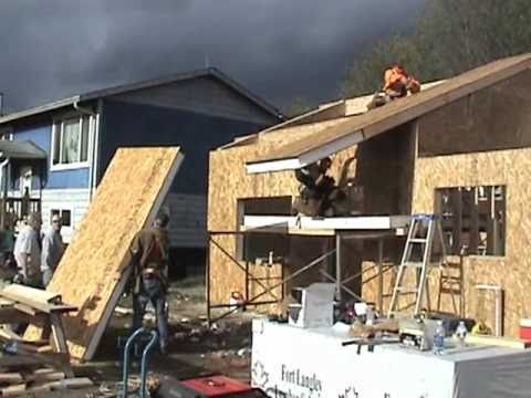 Building With Sips In Port Hardy Bc Youtube