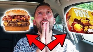 Gambar cover CHEAT MEAL MONDAY - BACON KING & CHEESY TOTS