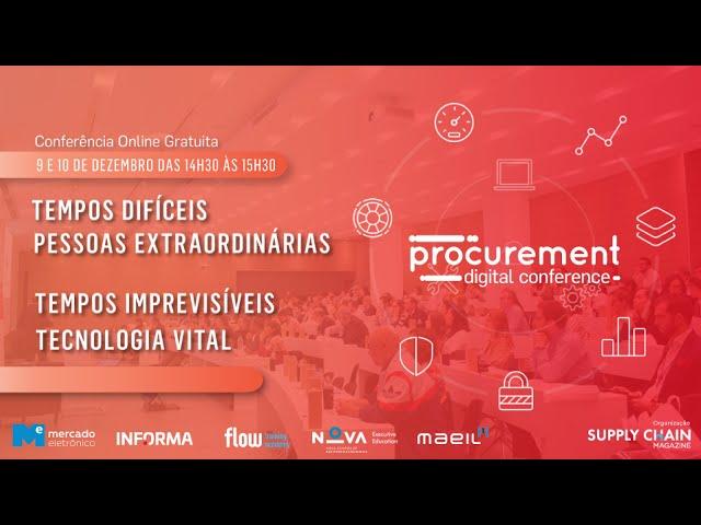 2.ª Procurement Digital Conference | 9 de Dezembro 2020