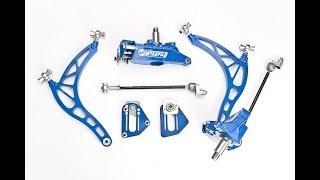 Дрифт-гараж - установка подвески Wisefab и койловеры BC Racing для Nissan S13