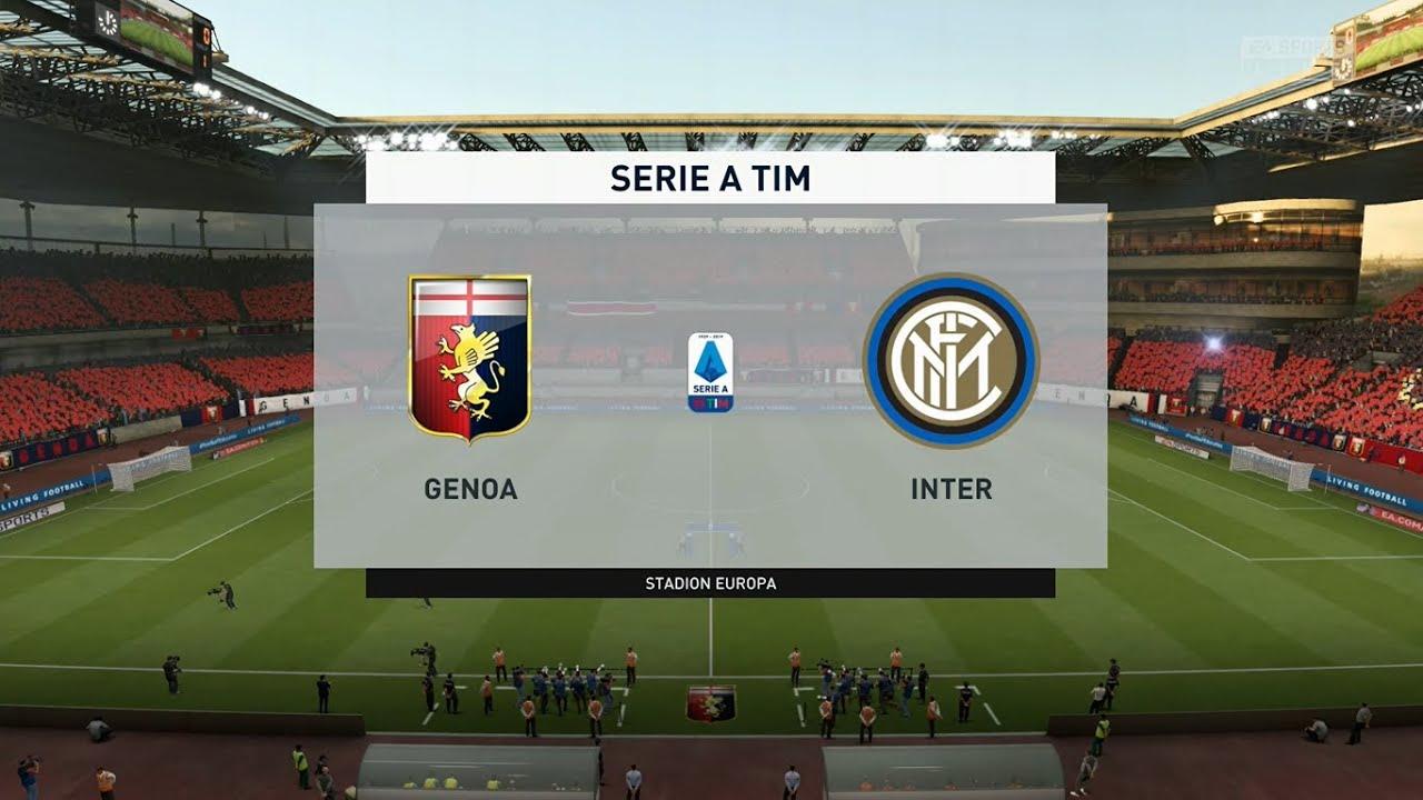 ⚽ Genoa vs Inter Milan ⚽ | Serie A (25/07/2020)