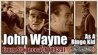 John Wayne As A Ringo Kid From Stagecoach (1939)