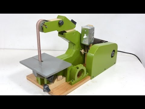 "Building the 1""x42"" belt sander"