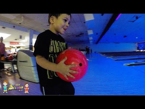 Bowling In Hamilton For Lincoln's 3rd Birthday