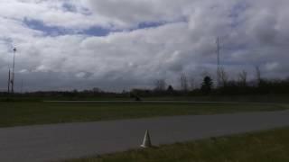 Honda CBR 1000 F SC24 1990 on track