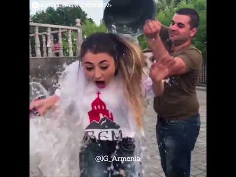 Вардавар или обливание водой, праздник в Армении.