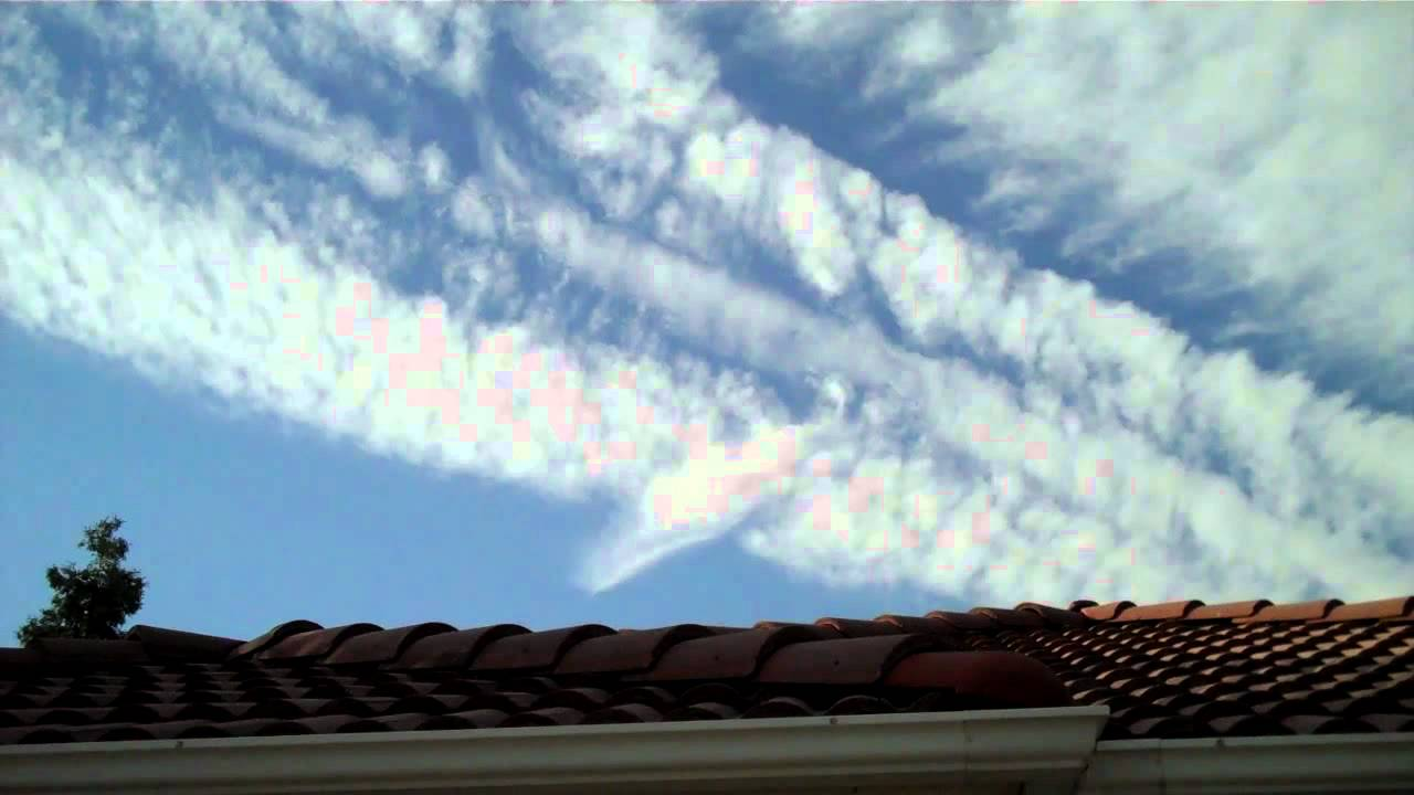 VIDEO: Chemtrails over Fresno – October 2014…