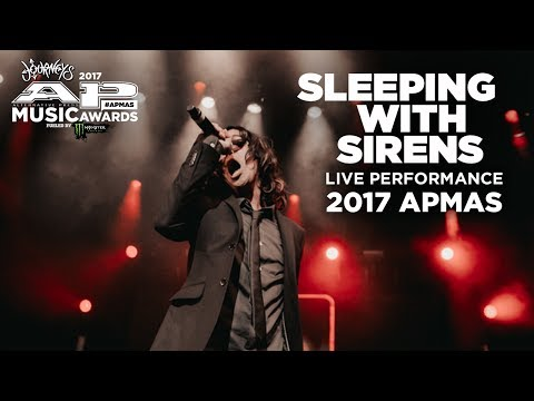 APMAs 2017 Performance: SLEEPING WITH SIRENS perform