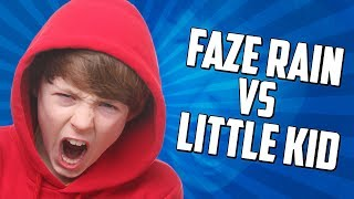 One of FaZe Rain's most viewed videos: FaZe Rain 1v1's a Little Kid!