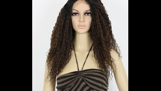 Freetress Equal Lace Front Wig STRAW CURL BRAIDS - Ebonyline