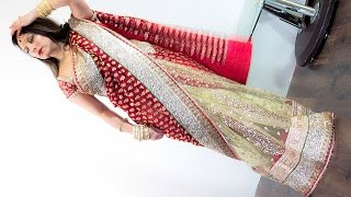 Comprehensive Heavy Saree Draping Tutorial | Step by Step | Nivi Dakshini
