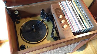 1956 Magnavox Magnasonic 420 Console Phonograph Repair & FULL CATALOG!