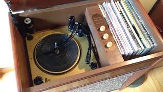 1956 Magnavox Magnasonic 420 Console Phonograph Repair & FULL CATALOG!