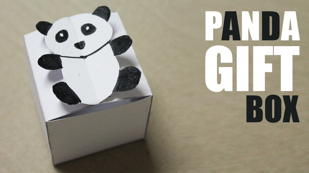 How To Make Gift Box For Kids