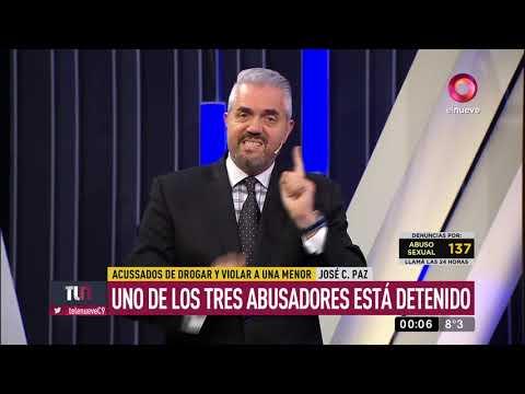 """Violación """"en Manada"""" En José C. Paz"""