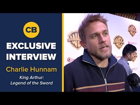 EXCLUSIVE: Charlie Hunnam Talks Sons of Anarchy - CinemaCon