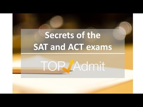 Secrets of the SAT & ACT Exams