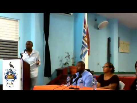 Q and A:  Pre launch of the book Like Bush Fire - UWI Open Campus, Belize