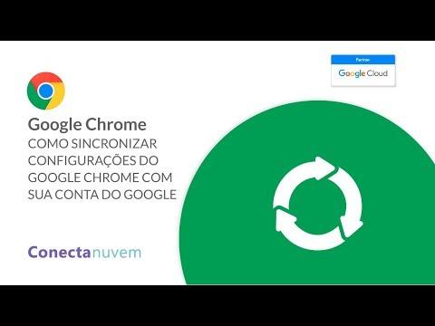Como sincronizar suas configurações do Chrome com a conta do Google