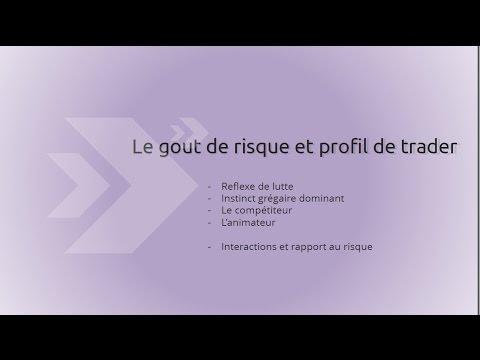 Gout du risque et profil de trader par Caroline Domanine