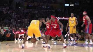 LA Lakers Vs Pistons November 16th 2007 (Kobe Bryant Highlights)