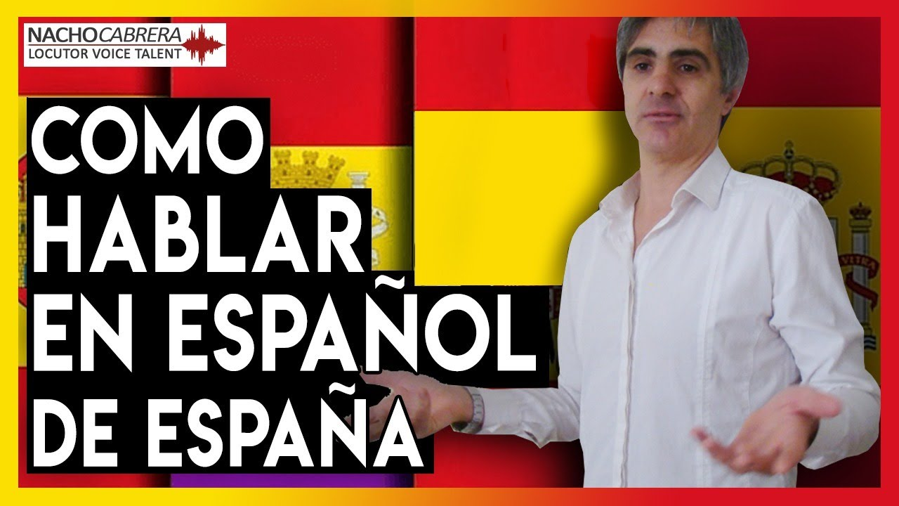 Cómo Hablar Español De España Youtube