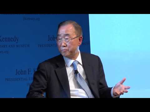 Ban Ki-moon on world hunger and US role