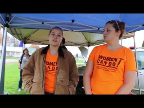 Women Can Do: A Conference Promoting STEM & Trades Careers (2014)
