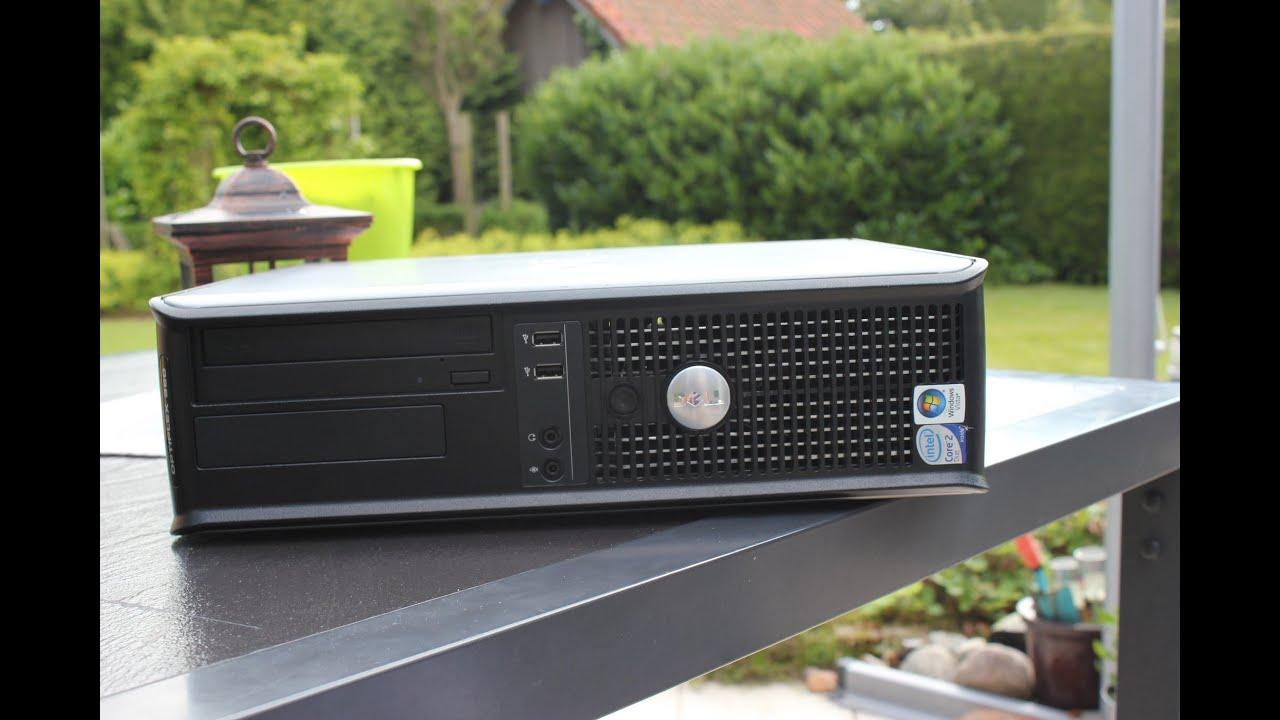 Dell Optiplex 360 pozitionat orizontal