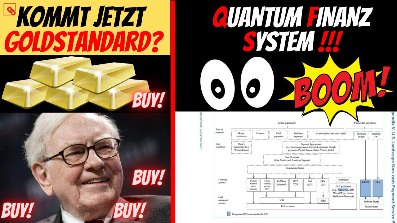 HEFTIG: Warren BUFFET kauft GOLD - QFS (Quantum Financial System) da? Kommt Goldstandard & Krypt