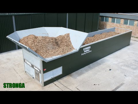 Stronga FlowDrya FD30GS – Renewable biomass fuel from drying woodchip