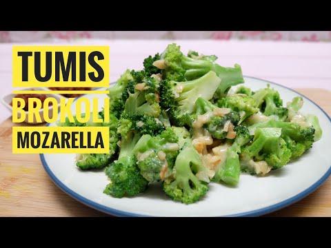 Inspirasi Masakan Rumahan Dan Sehat Tumis Brokoli Mozarella Youtube