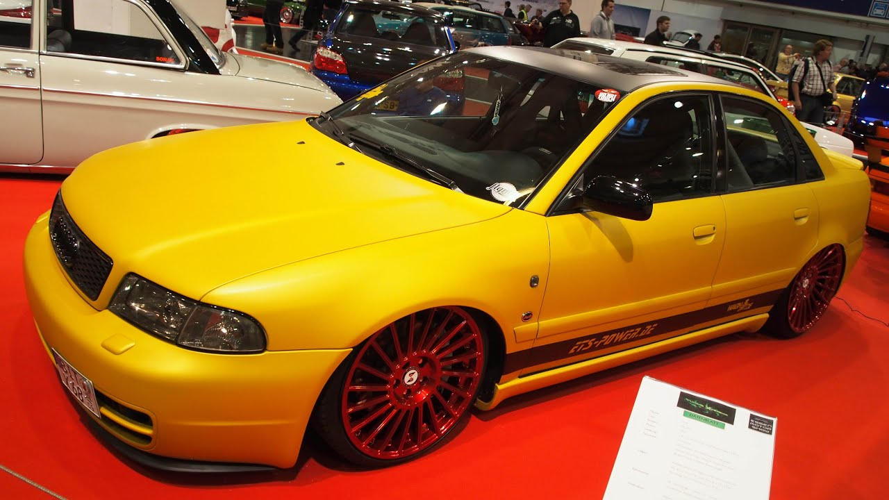 audi a4 b5 2 8l 200 ps 1995 tuning at essen motorshow. Black Bedroom Furniture Sets. Home Design Ideas