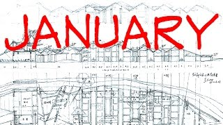 January Competition - Architecture Daily Sketches