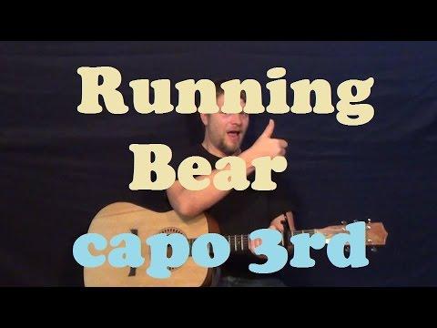 running bear johnny preston easy strum guitar lesson. Black Bedroom Furniture Sets. Home Design Ideas