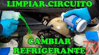 Limpiar circuito radiador y cambiar liquido refrigerante 👨🏽🔧👨🏽🔬